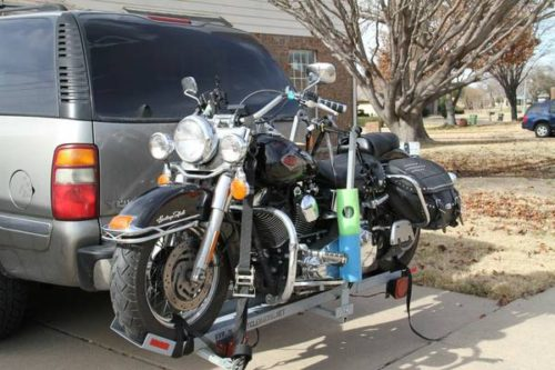Trailer Hitch Motorcycle Carrier >> Motorcycle hitch carrier;haul w/o trailer:Saves fuel:Bmw ...