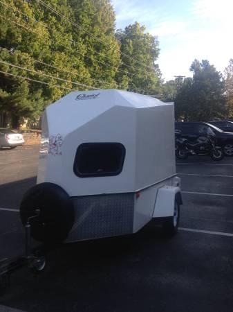 Fiberglass Enclosed Motorcycle Trailer 2950 Lexington