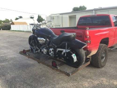 Heavy Duty Motorcycle rack/carrier