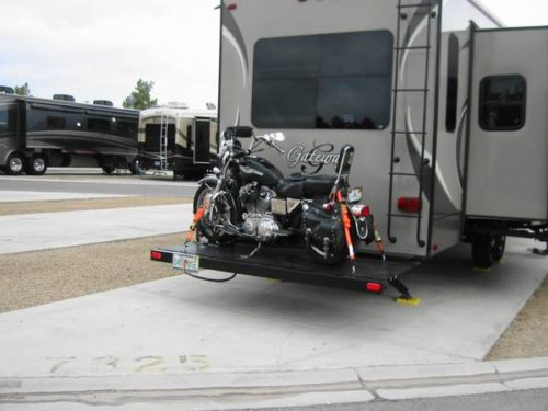 Building Plans Motorcycle Carrier For 5th Fifth Wheel