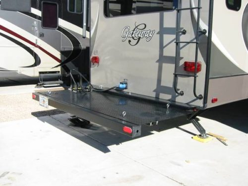 Trailer Hitch Motorcycle Carrier >> Building Plans Motorcycle Carrier for 5th Fifth Wheel ...