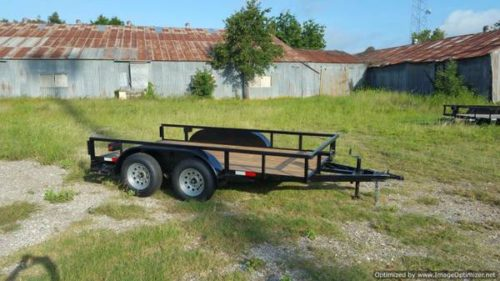 Utv Trailer Axles : Trailers tandem axle utility trailer with ramps