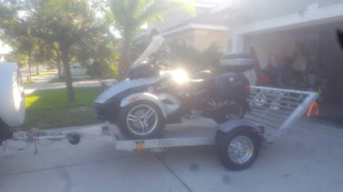 CAN       AM       SPYDER    ALL ALUMINUM    TRAILER      1950  Orlando    Motorcycle    Trailer