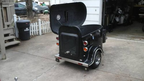 Solar Powered Camper >> TRAILER PULL BEHIND TOW CARGO - $2000 (Kansas City) | Motorcycle Trailer