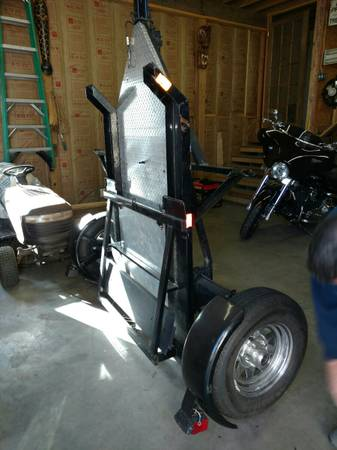 Kendon Dual Stand Up Motorcycle Trailer 2250