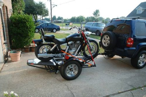 reduced kendon single stand up motorcycle trailer 1200 new orleans motorcycle trailer. Black Bedroom Furniture Sets. Home Design Ideas