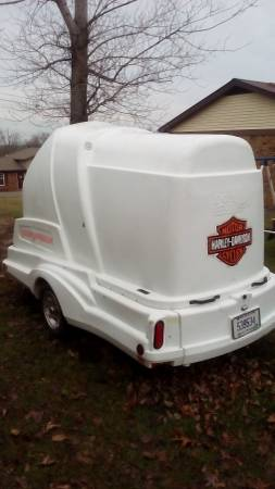 Harley Trailer Toy Carrier Toy Hauler Motorcycle