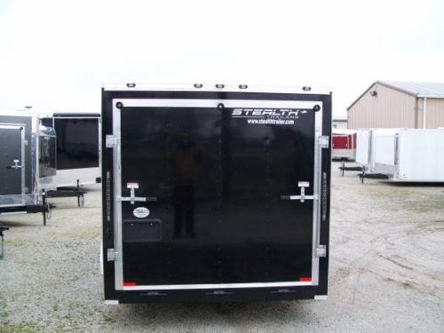 New 7x14 Tandem Axle Stealth Mustang Enclosed Cargo