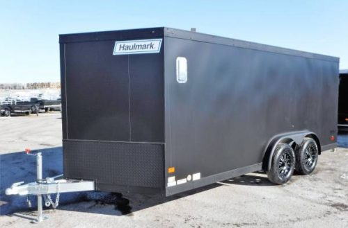 7 5 X16 Aluminum Enclosed Cargo Motorcycle Trailer