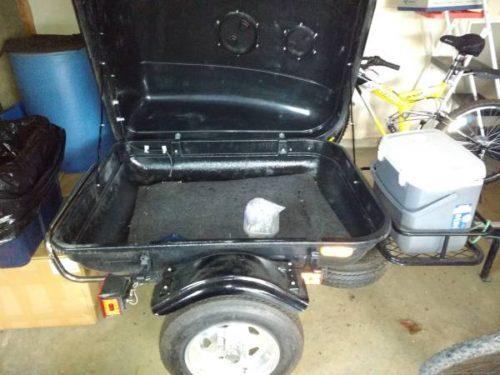 Piggyback motorcycle cargo trailer - $600 (Seattle ...