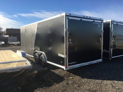 New 8 5x20 Stealth All Aluminum Super Lite Enclosed Car