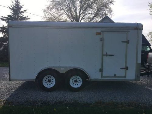 2000 Cargo Express 7x14 Motorcycle Trailer 3750