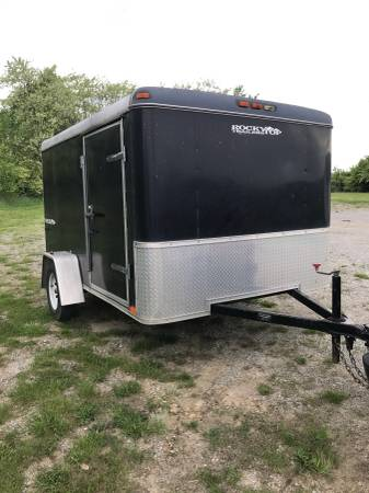 enclosed motorcycle trailer - $2500 (Lexington ...