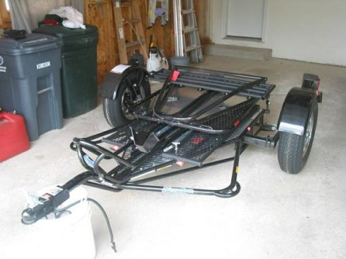 Kendon single ride up srl stand up™ motorcycle trailer