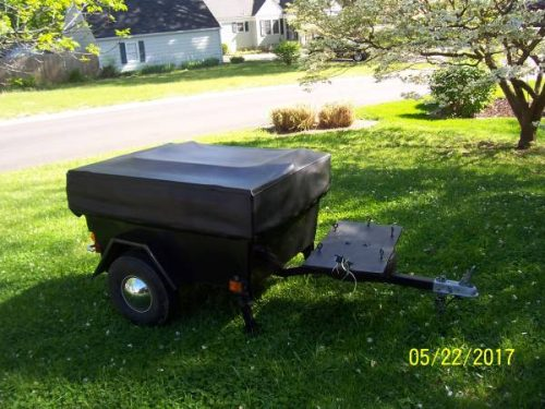 Wonderful  TRAILER Motorcycle Camper  1400 Kansas City  Motorcycle Trailer