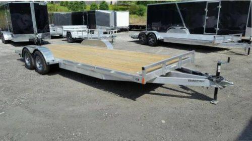 2018 Stealth Phantom 7 x 20 Aluminum Flatbed trailer / Car ...