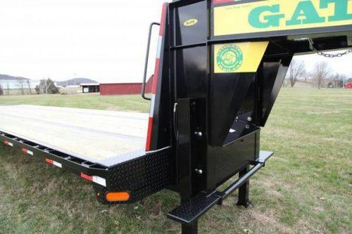 Dovetail Utility Trailer 7 X 20: Gatormade Trailers 20+10 Hydraulic Dovetail Gooseneck