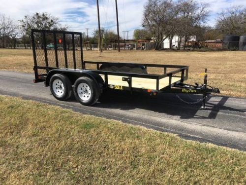 2018 big tex 50la 12 77 x 12 39 tandem axle trailer w. Black Bedroom Furniture Sets. Home Design Ideas