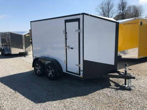 2018 Stealth Mustang 6x10 Enclosed Cargo Trailer   Tandem