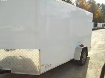 6x12 SGAC Enclosed cargo Trailer For Sale! - $2095 ...