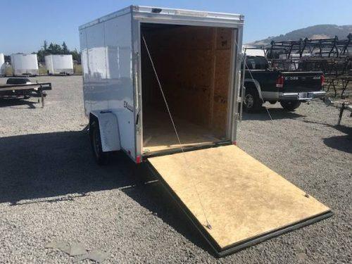 5x10 Enclosed Trailer w/ Ramp -- CRAIGSLIST SPECIAL $2899 ...